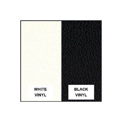 Capota blanca interior negro Ford Thunderbird