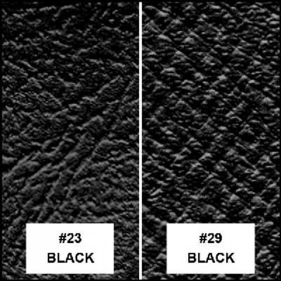 Capota negra interior negro