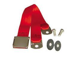Cinturon de seguridad Bright Red