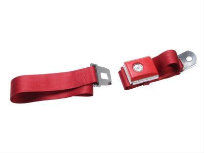 Cinturon de seguridad dark red