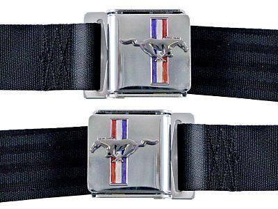 Cinturones Tri-Bar negro