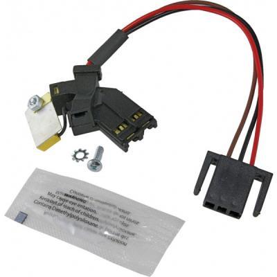 Condensador con cables