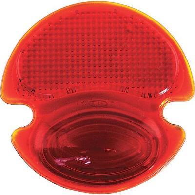 Cristal de piloto trasero rojo
