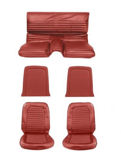 Interior completo bright red Fastback