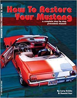 Libro como restaurar tu Mustang
