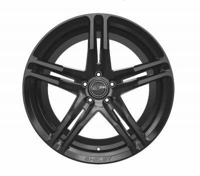 Llanta Carroll Shelby CS14 Negra Brillante 20x11