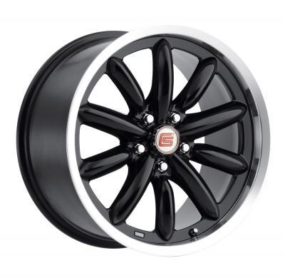 Llantas Carroll Shelby CS56 Negra 18x9.5