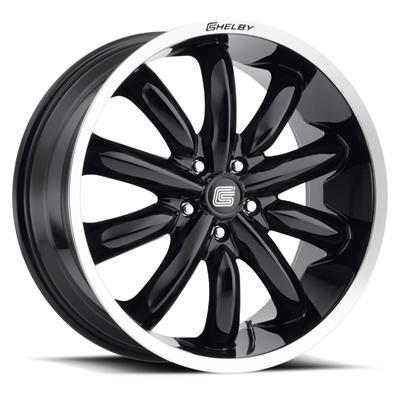 Llantas Carroll Shelby CS56 Negra 20x9