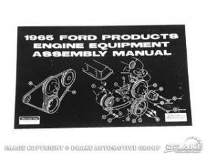 Manual equipamiento motor 1965