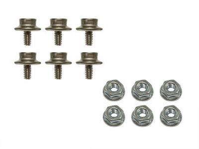 Set de tornillos moldura filo capota
