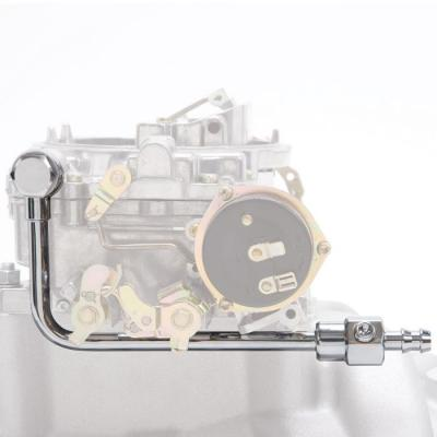 Tuberia combustible acero cromado Edelbrock Ford Mustang 1964 1973